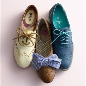 BP Nordstrom Oxford Flat With Oversized Floppy Bow